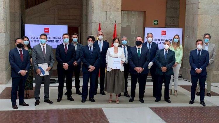 La Comunidad de Madrid presenta el Pacto Regional por la Vivienda