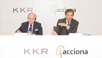 Acciona y KKR constituyen su empresa conjunta de energías renovables