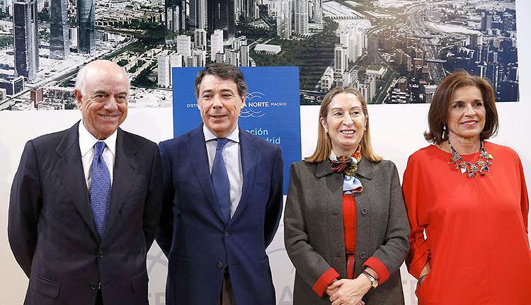 El proyecto Distrito Castellana Norte en Madrid prevé 17.000 viviendas y 120.000 empleos