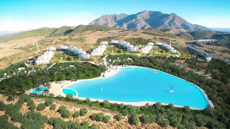 Crystal Lagoons llega a España con un primer proyecto de 121 millones en la Costa del Sol