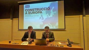 El sector español de la construcción crecerá un 3,5% en el periodo 2018-20 según el Itec
