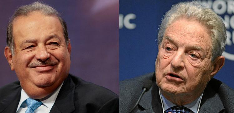 Slim y Soros se enfrentan a cara de perro por Realia
