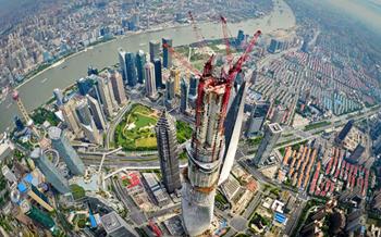 La Torre de Shanghai ya tiene 632 metros
